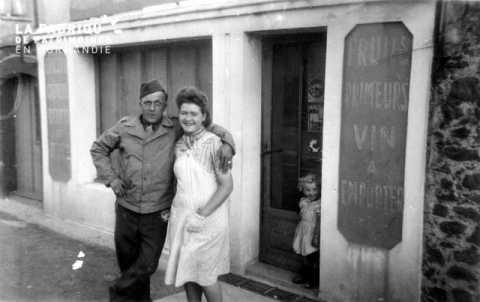 Couple à Donville-les-Bains