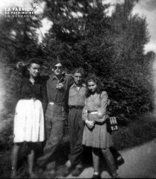 Photographie souvenir de la Libération