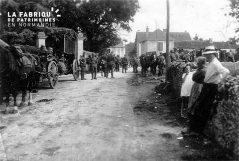 Occupation de la Normandie par les Allemands