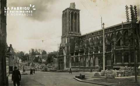 Caen après-guerre
