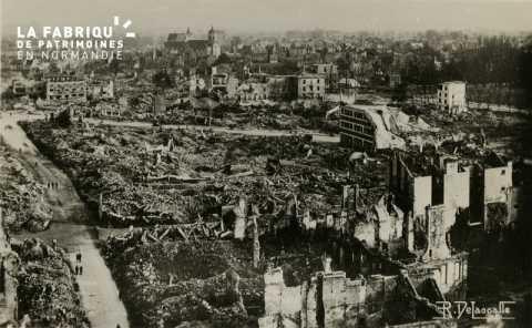 Les ruines de Caen