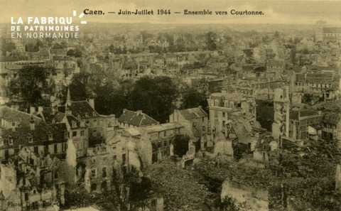 Caen- Juin,Juillet 1944 -Ensemble vers Courtonne
