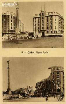 Caen- Place Foch