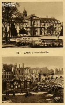 Caen Hotel de ville