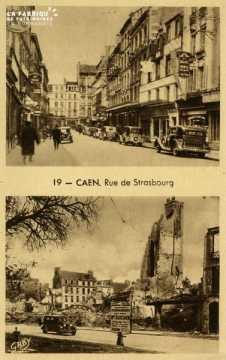 Caen - Rue de Strasbourg