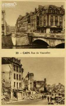 Caen rue de Vaucelles