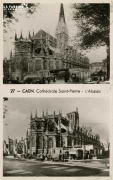 Caen- Cathédrale St-Pierre