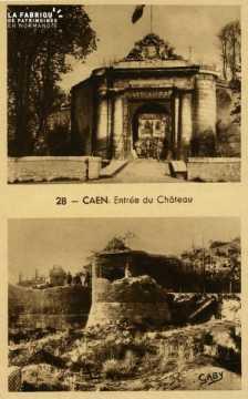 Caen- Entrée du Château