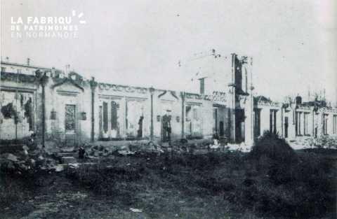 Caen detruit_1944_le Bon Sauveur