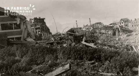 Caen detruit_1944_le quartier St Louis