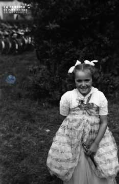 Portrait d'une jeune enfant