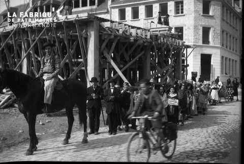 Scène de rue à Falaise