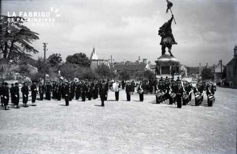 Statue Guillaume le Conquérant à Falaise