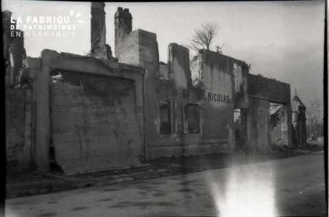 Falaise en ruines