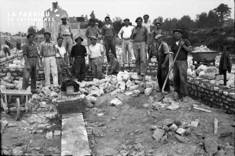 Ouvriers à Falaise