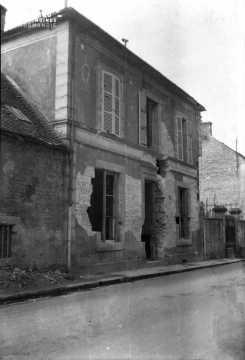 Maison détruite à Falaise