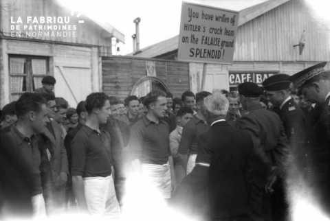 Sportifs et Bernard Montgomery à Falaise