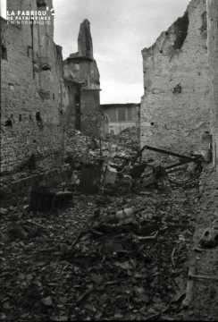 Destructions à Falaise