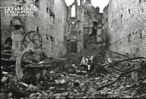 Les ruines de Falaise