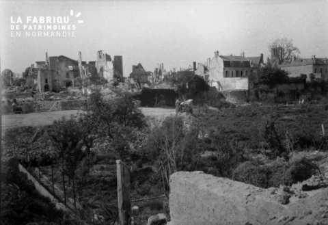 Ville bombardée (Falaise)