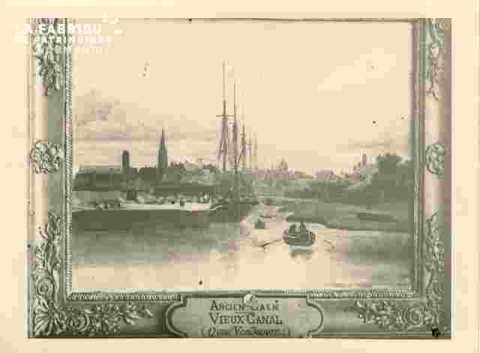 Quai Vendoeuvre.Vieux canal