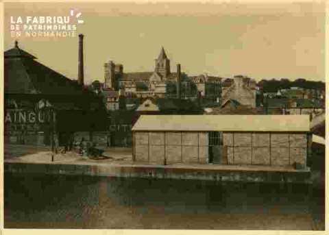 Bassin Saint Pierre, quai de la londe