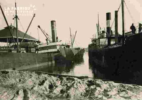 Quai G.Lamyou Av Berthelot, charbon et sable