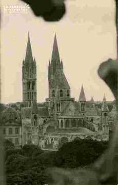 Saint Etienne, vu de Saint Et le vieux