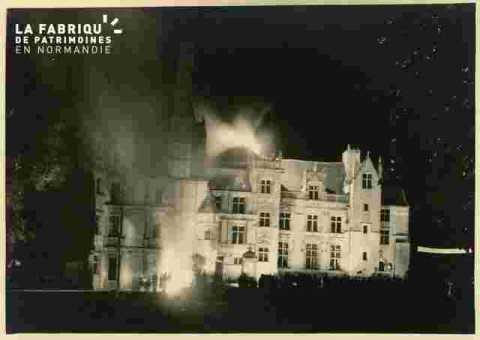 Château illuminé