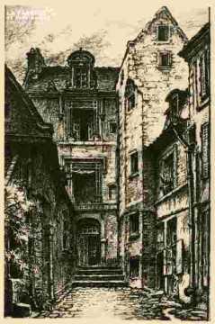 Rue Froide N°41.Extrait de Caen qui s'en va