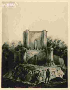 Donjon.Reconstitution.démoli en 1793