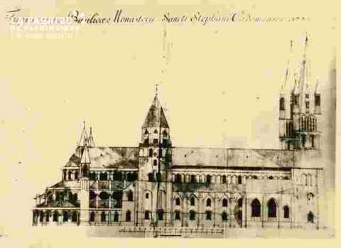 Abbaye aux hommes Monasteri Sancti Stephani