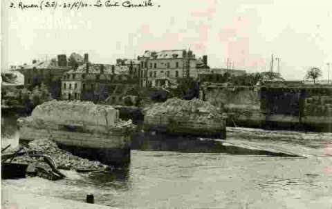 Le pont Corneille.30/06/40