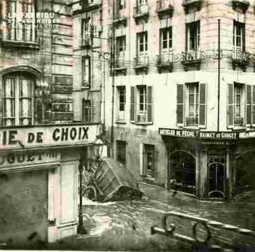 Rue détruite