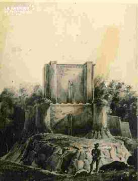 Le Donjon.1832.mauvais état