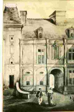 H.d'Escoville.cour int. et personnages 1832