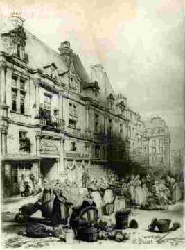 H.d'Escoville Bourse du commerce     1840