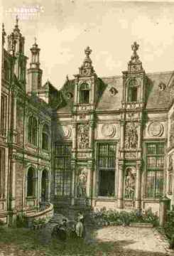 H.d'Escoville.La Bourse à Caen