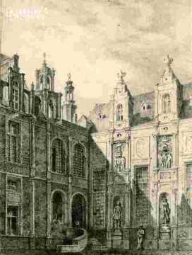 H.d'Escoville .anc H.Levallois.H.de ville.Bourse