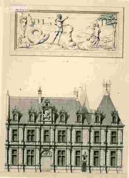 H.d'Escoville.H.d'Ecoville, façade sur la cour