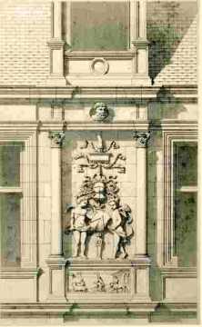 H.d'Escoville.Détails du 1er étage