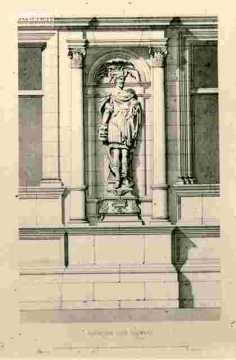 H.d'Escoville.Elévation d'un trumeau