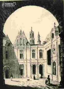 H.d'Escoville.Ancien hotel de ville de Caen