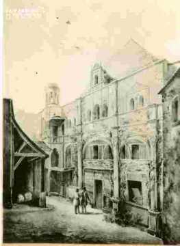 Hôtel de la Monnaie.Etat ancien.