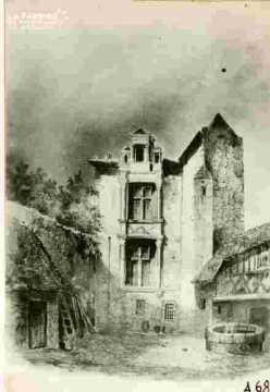 """Maison dite des """"""""Templiers"""""""" r haute à Saint Gilles N°9"""