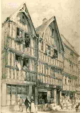 Maisons anciennes r Montoir Poissonnerie