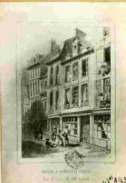 Mon de Charlotte Corday, r Saint Jean N° 48