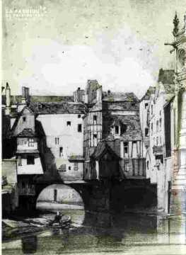 Le pont Saint Pierre  (et l'abside)
