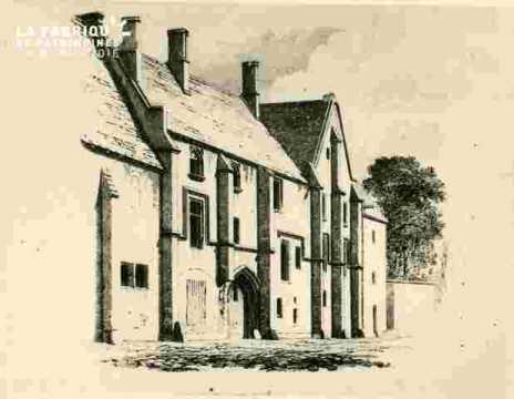Abbaye d'Ardenne, Porterie