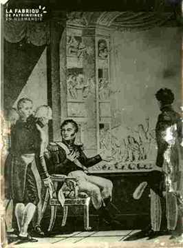 Le Duc de Berry remercié au théatre       1891